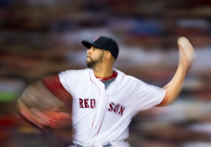 BOSTON, MA - AUGUST 27: David Price #24 of the Boston Red Sox pitches against the Kansas City Royals in the second inning on August 27, 2016 at Fenway Park in Boston, Massachusetts. (Photo by Michael Ivins/Boston Red Sox/Getty Images) *** Local Caption *** David Price